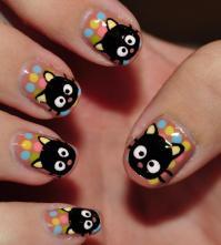 chococat-nail-art