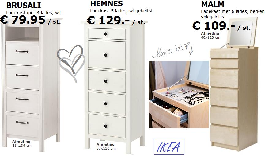 Malm Ladekast Ikea 3 Laden.Ikea Malm Kast 6 Laden Huis Galerij